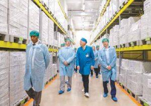 ОДО «Интерхим» открыло новый, уникальный для Украины, лабораторно- производственный комплекс европейского уровня
