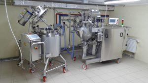 Емкостное и дозирующее оборудование производства ООО «Кабельфармтехника» для фармацевтических предприятий