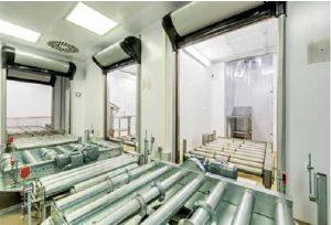 Модернизация участка для отбора проб на ПАО «Фармак»