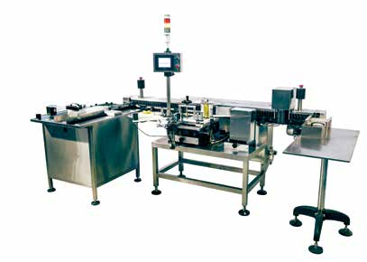 Новинка: автомат ROLS-300A для нанесения этикетки на ампулы и картриджи