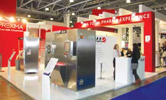 Выставка «Фармтех» 2015 и на этот раз, как и в предыдущие годы, прошла для ведущего производителя оборудования – компании IMA – с большим успехом