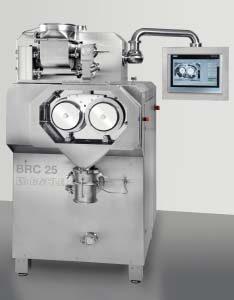 Компактный сухой гранулятор Bohle BRC 25 завершил серию оборудования для грануляции