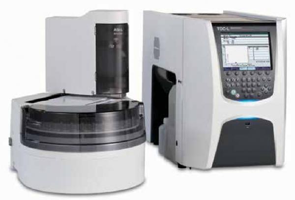 Контроль качества воды с помощью лабораторных и промышленных анализато общего органического углерода производства SHIMADZU
