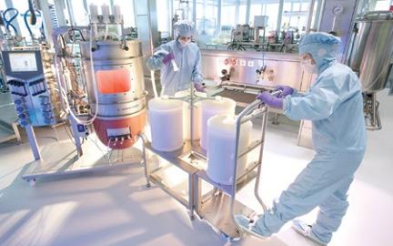 Платформенное производство моноклональных антител