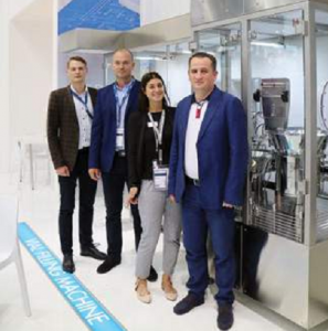 Выставка ACHEMA 2018: предложения компании Steriline для фармацевтического сектора постоянно совершенствуются с точки зрения технологий, эффективности и безопасности