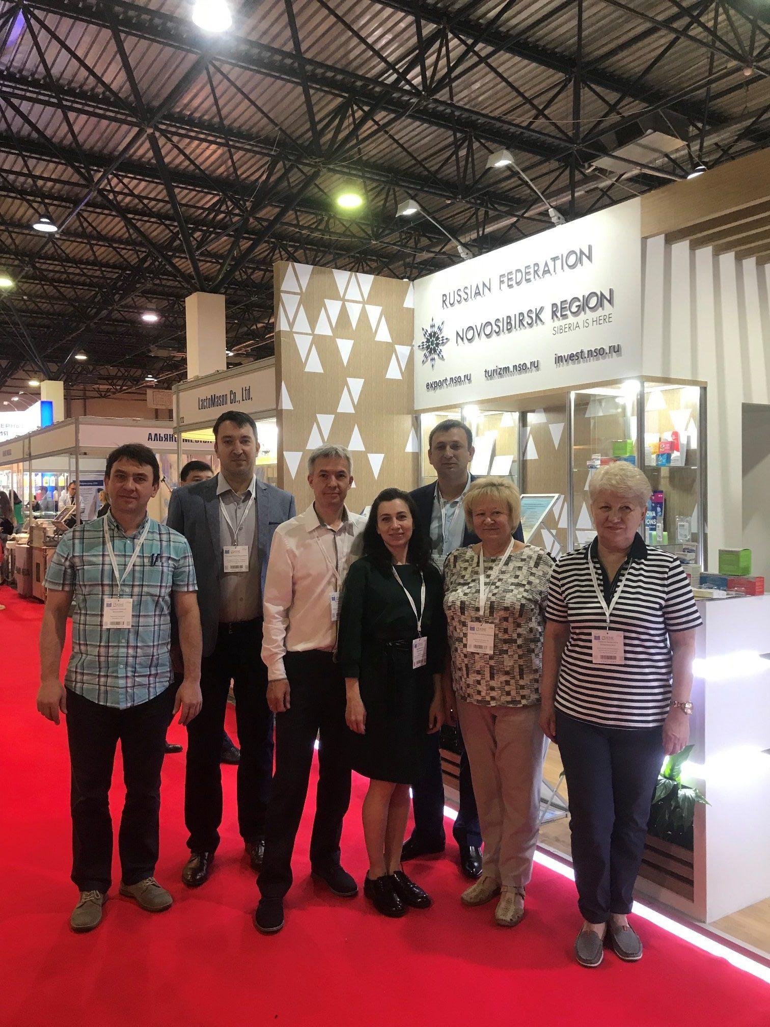 Новосибирские экспортеры презентовали современные разработки в медицине на Казахстанской международной выставке «Здравоохранение» - KIHE