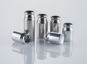 Plasma technology for mettered-dose inhaler canisters