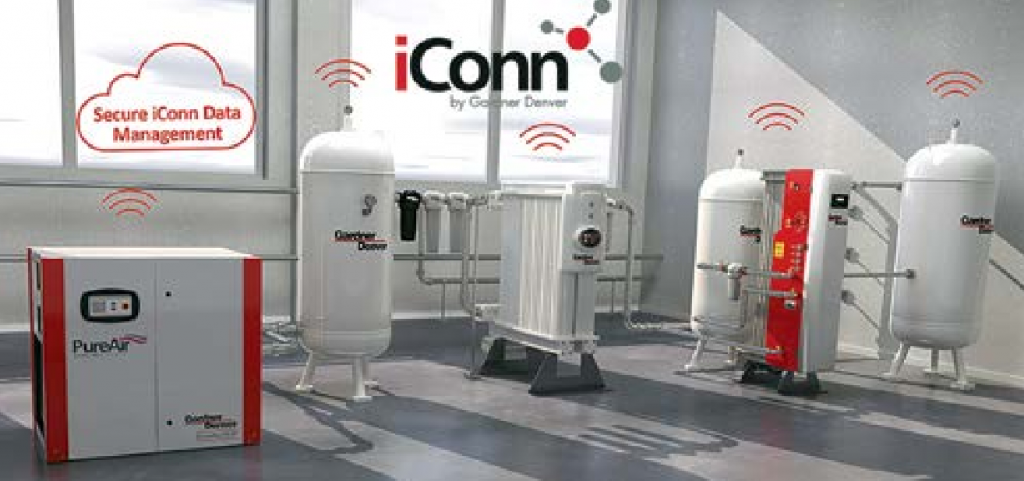 iConn Systems manufactured by GardnerDenver enables real time monitoring of your needs for medical gases with Industry 4.0 instruments