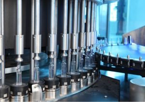 Quality assurance, automation and digital technology for the production of liquid drugs in ampoules