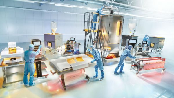 Supplier side. Smart modular package units for single-use processing, addressing cost, speed, and flexibility challenges in biologics manufacturing