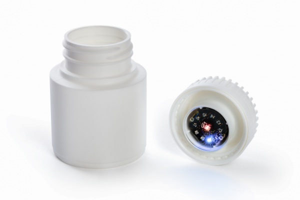 Connect-e-Cap. An intelligent primary packaging solution by Roechling Medical