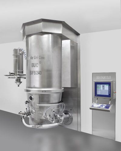 L.B. Bohle: Fluid Bed System BFS - multipurpose equipment for drying, granulation and coating