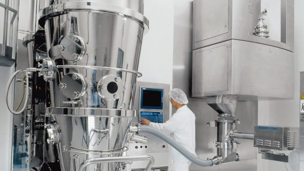 Fluid bed granulation from GEA