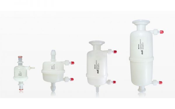 Capsule filters manufactured by mdi