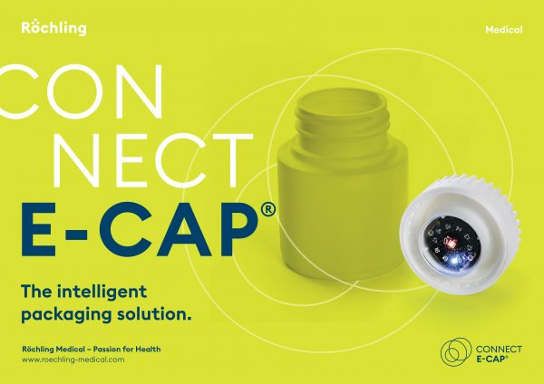 Connect-e-Cap. An intelligent primary packaging solution by Röchling Medical