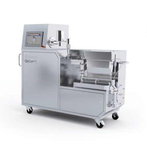 Установка QbCon®1 и сушилка модели BCD для непрерывного производства