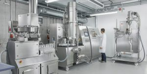 Flexible expansion options. Modular systems for the production of solid dosage forms