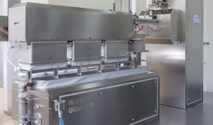 New equipment for continuous production and coating in insulator design. L.B. Bohle has reached an important milestone in continuous granulation and drying processes