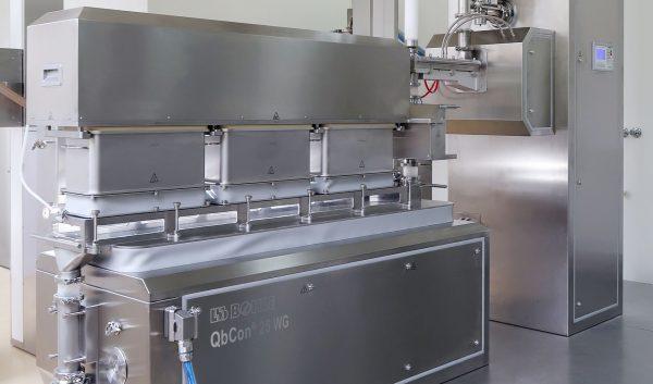 Новое оборудование для непрерывного производства и нанесения покрытия в изоляторном исполнении. Компания L.B. Bohle достигла важного этапа в процессах непрерывной грануляции и сушки