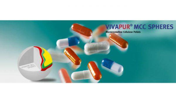 Сферы из МКЦ VIVAPUR® MCC производства компании JRS Pharma для современных мультипартикулярных лекарственных форм (MUPS)