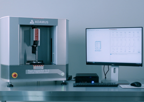 Ti-3 is a precious machine for measuring punches and dies from ADAMUS S.A.